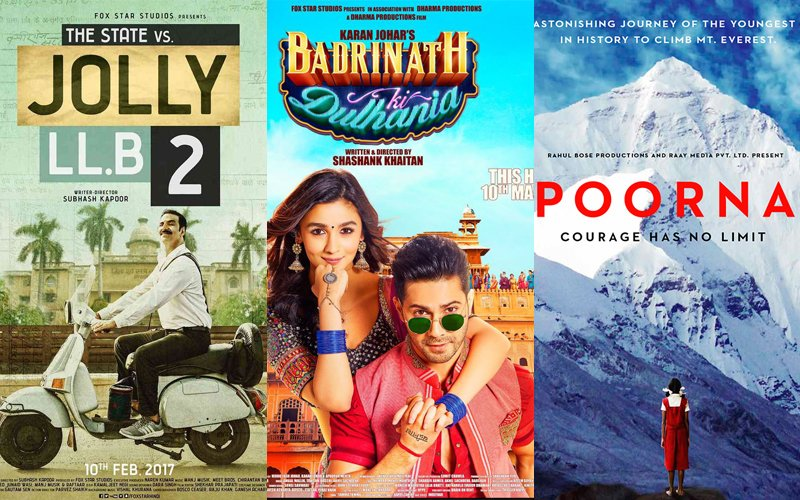 From Jolly LL.B 2 To Poorna, A Round-Up Of The Best  Films Of The First Quarter of 2017