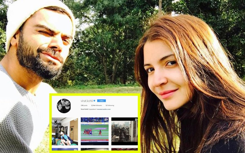 FAB FRIDAY: Virat Kohli Changes His Instagram DP, It Now Has Anushka Sharma In It