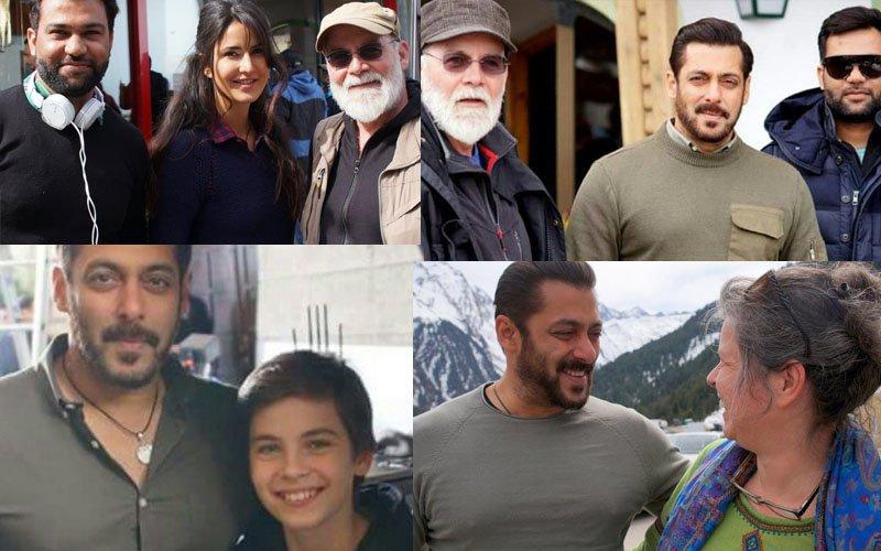 IN PICS: Salman Khan & Katrina Kaif On-The-Sets Of Tiger Zinda Hai In Austria