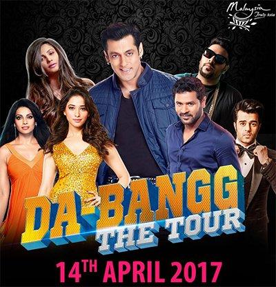 salman khan dabangg tour poster
