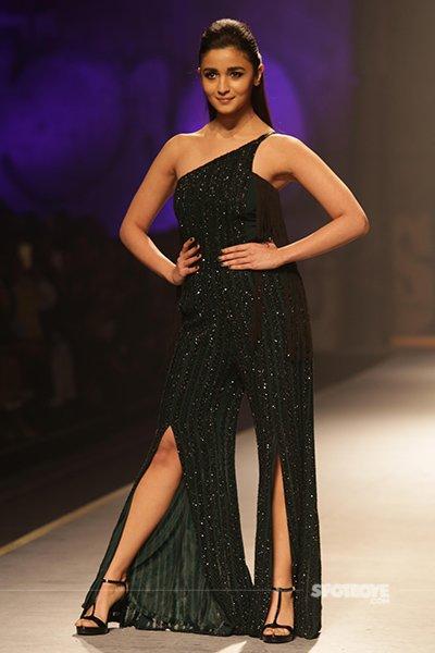 alia bhatt at the aifw fashion show in new delhi
