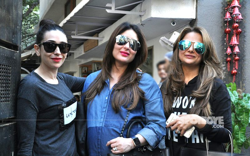 Kareena Kapoor Steps Out For A Ladies' Lunch With Sis Karisma