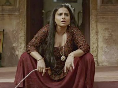vidya balan in a very bold scene from begum jaan her upcoming film