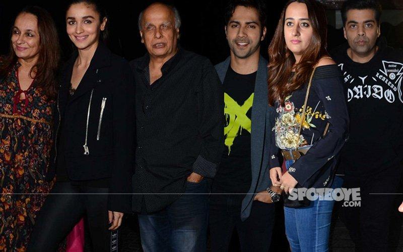 Alia & Family, Varun-Natasha, Karan Watch Badrinath Ki Dulhania
