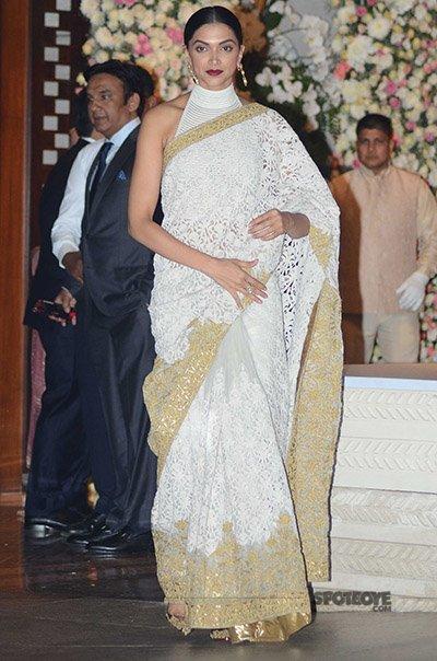 Deepika Padukone at Mukesh Ambani's bash