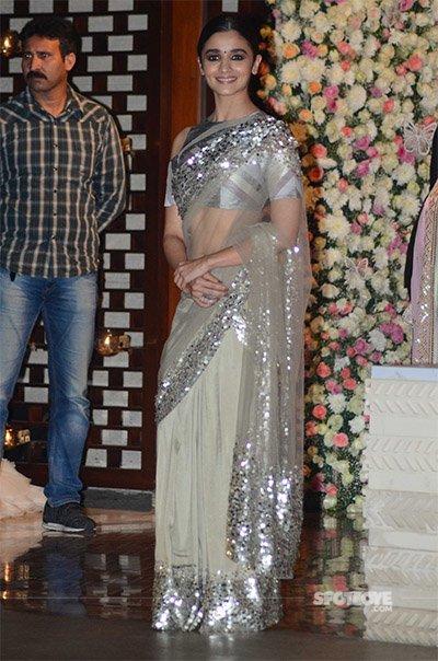 Alia Bhatt at Mukesh Ambani's Bash