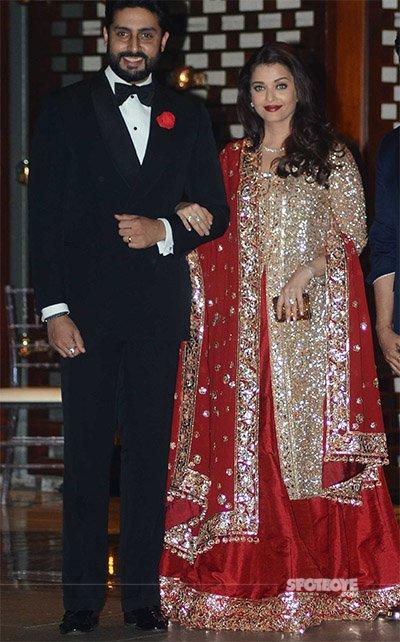 Aishwarya and Abhishek at Mukesh Ambani's Bash