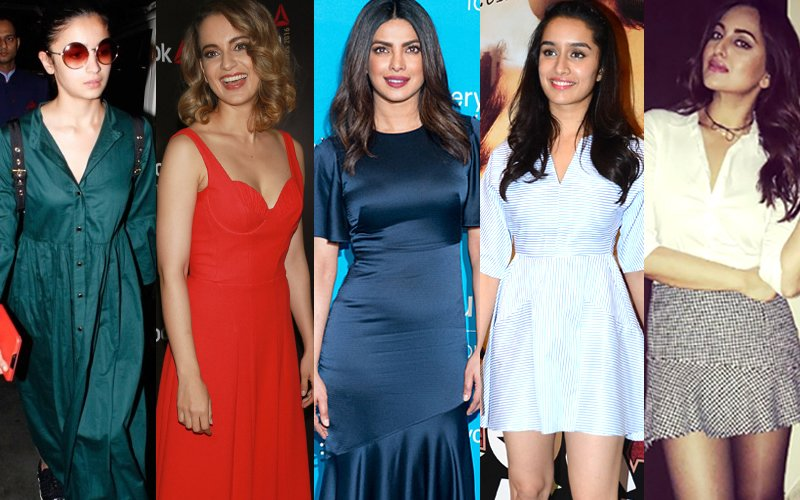 BEST DRESSED-WORST DRESSED OF THE WEEK: Alia Bhatt, Kangana Ranaut, Priyanka Chopra Or Shraddha Kapoor?