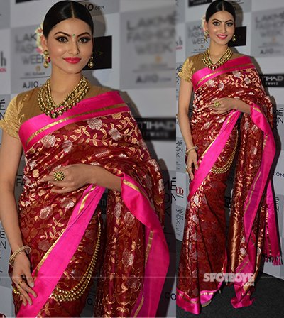 urvashi rautela at the lakme fashion week 2017 day 2