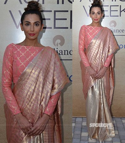 monica dogra at the lakme fashion week 2017 day 2