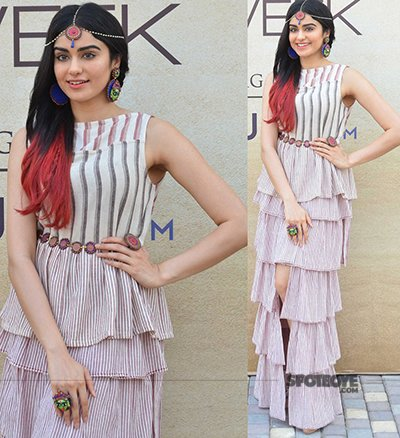 adah sharma at the lakme fashion week 2017 day 2