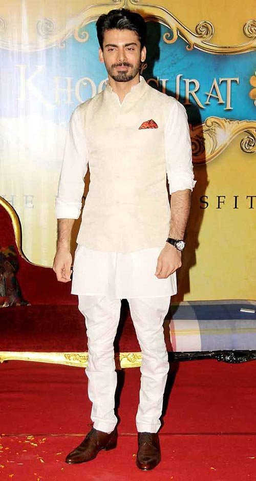 fawad khan in nehru jacket