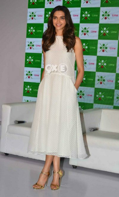deepika padukone radiant in white