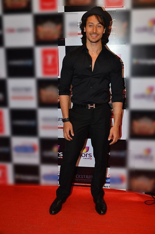 tiger shroff at an musical event
