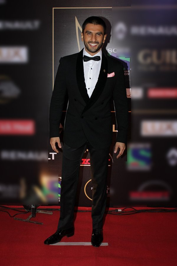 ranveer singh classic looks at an awards show