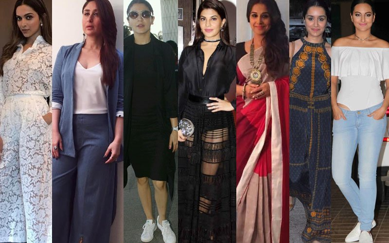 BEST DRESSED & WORST DRESSED Of The Week: Deepika, Kareena, Anushka, Jacqueline, Vidya, Shraddha Or Sonakshi?
