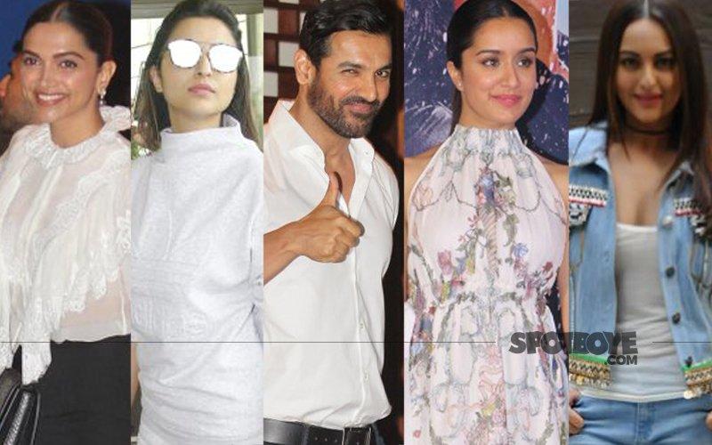 STUNNER OR BUMMER: Deepika Padukone, Parineeti Chopra, John Abraham, Shraddha Kapoor Or Sonakshi Sinha?