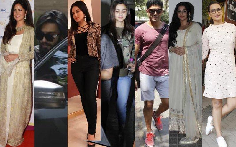 STUNNER OR BUMMER: Katrina Kaif, Ranveer Singh, Sunny Leone, Alia Bhatt, Farhan Akhtar, Vidya Balan Or Sonakshi Sinha?