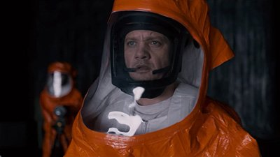 Jeremy Renner in a still from Arrival Movie