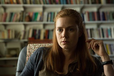 Amy Adams in a still from the movie Arrival