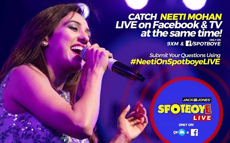 SPOTBOYE LIVE: Talent Unlimited Neeti Mohan Live On Facebook And 9XM!