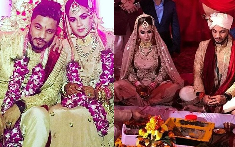 HITCHED: Rapper Raftaar Ties The Knot With Komal Vohra