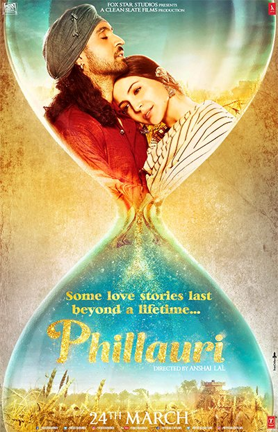 phillauri poster anushka sharma and diljit dosanj