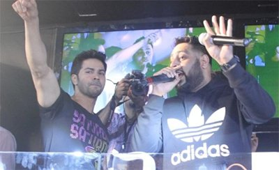varun dhawan and badshah to compose music for judwaa 2