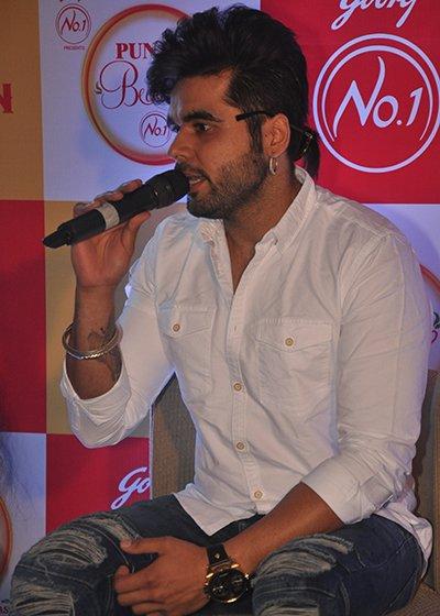 singer ninja speaking at punjab di beauty no 1 event