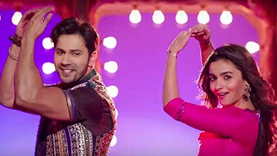 varun dhawan and alia bhatt dancing