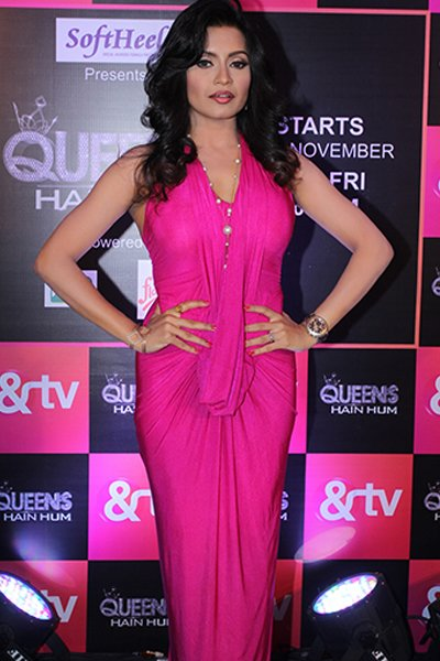Bhavna_Pani_aka_Maya_Bhiyani_at_the_launch_of_Queens_Hai_Hum.jpg