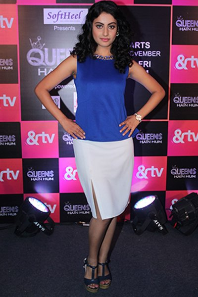 Shaily_Priya_Pandey_aka_Jhanvi_Seth_at_the_launch_of_Queens_Hai_Hum.jpg