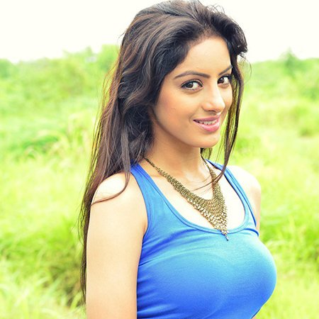 Deepika Singh in her cool blue avatar