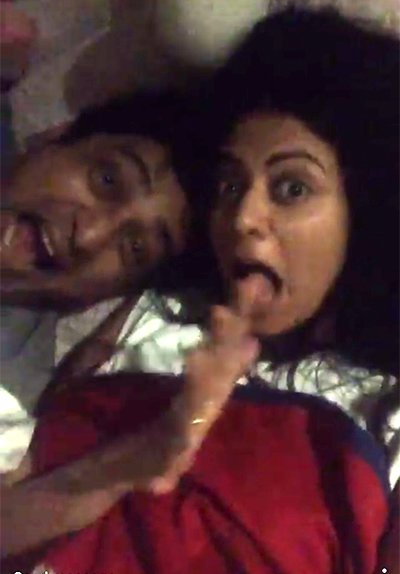 Kavita Kaushik and Ronnit Biswa s see have taken their relationship to the next level