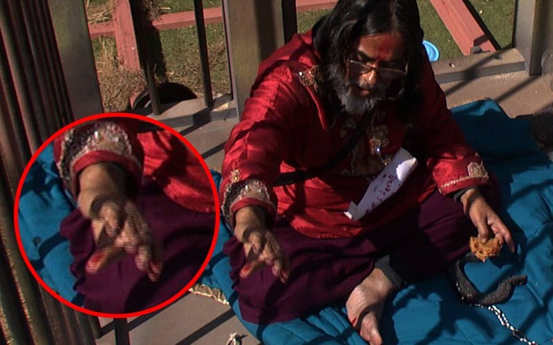 Bigg Boss 10, Day 80: Swami Om Stoops To New Low, Sprinkles Blood On Fellow Contestants