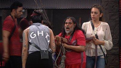swami arguing with vj bani