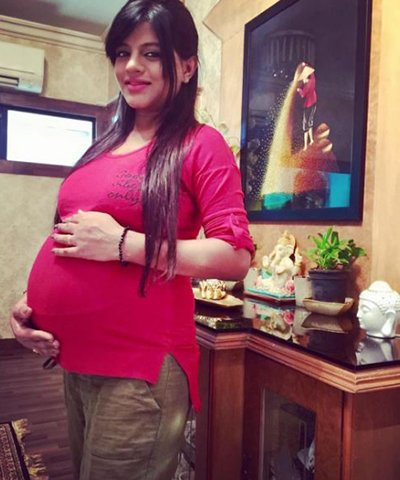 mitali nag blessed with a baby boy