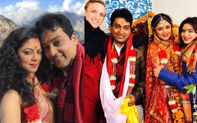 JUST MARRIED: Kavita Kaushik Ties The Knot In The Mountains