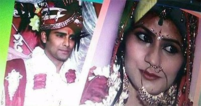 bigg boss contestant manveer gujjar wedding pics