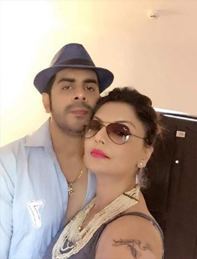 deepshika nagpal with husband kaishav arora holidaying