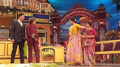 akshay kumar and huma qureshi promoting jolly llb 2 at the kapil sharma show
