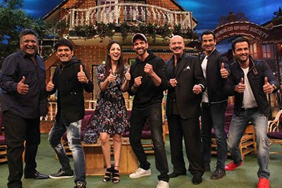 team kaabil on the kapil sharama show