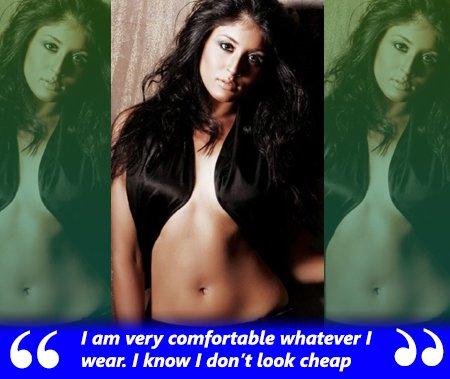 kritika kamra is confident of her looks