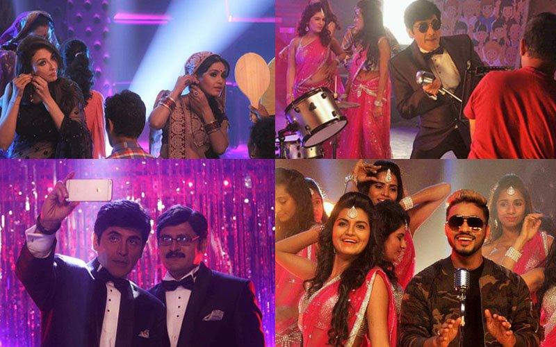 Bhabiji Ghar Par Hai Actors Groove To The Tunes Of Rapper Raftaar