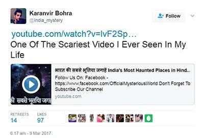 karan vir bohra twitter account hacked