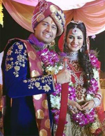 gaurav khanna and akanksha chamola wedding pics