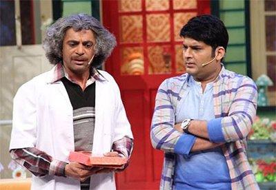dr mashoor gulati and kapil sharma in the kapil sharma show