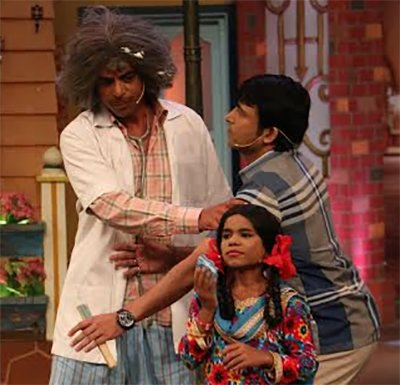 sunil grover and chandan prabhakar on kapil sharma show