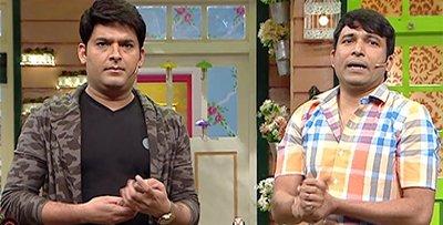 kapil sharma and chandan prabhakar on kapil sharma show