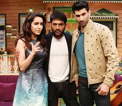 shraddha kapoor and aditya roy kapoor the kapil sharma show